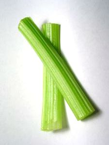 My favorite salad ingredient: celery