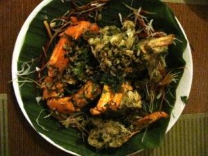 Kudla's deep fried butter garlic crab