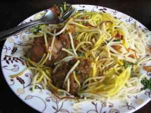 Ask for vermicelli instead of noodles!