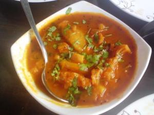 Raithay: an unusual vegetarian dish