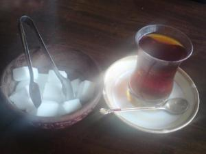 Iranian tea: sugar and spice and all things nice!