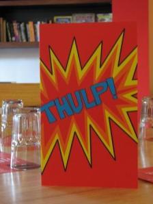 Thulp menu