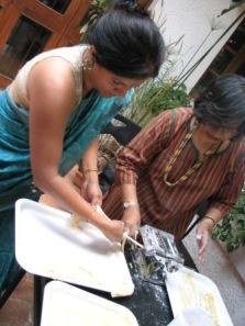 L: Smita Satyanath; R: Nirada Harendran
