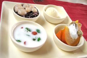 Aroy - dessert sampler