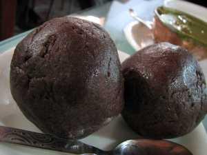 Ragi mudde, a.k.a. ragi balls