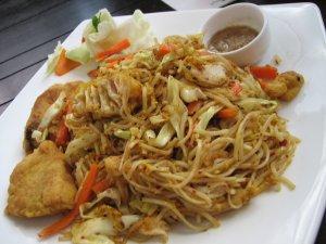 Phobidden Fruit noodle dish