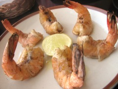 El Tablao battered prawns