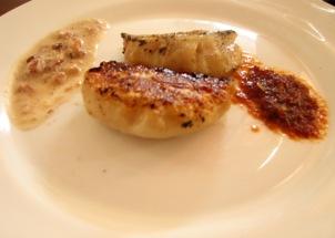 Madhu Menon Pork dumplings