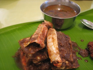 Karaikudi crab curry